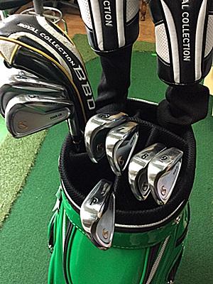 新しいクラブセット, the latest golf clubs by HONEST