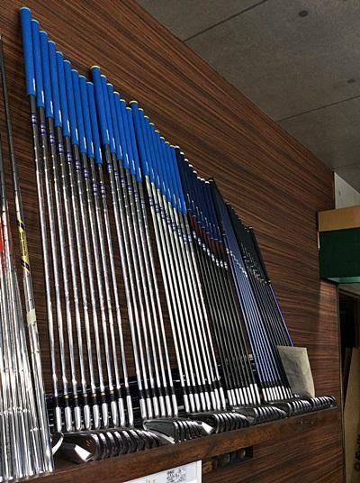 成長して交代してきた歴代のクラブたち, custom golf clubs by HONEST