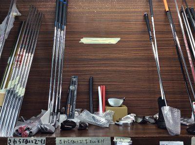 オネストが製作中のゴルフクラブたち, orderd golf clubs in HONEST